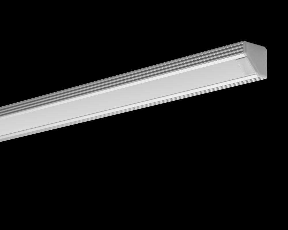 Hliníkový profil pre LED pasky 45 - ALU neanodizovaný 47e137a11f