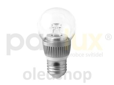 LED žiarovka PANLUX E27 BALL 3,5W