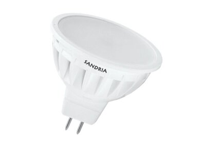 LED žiarovka Sandy LED S1345 MR16 5W SMD 4000K 450lm