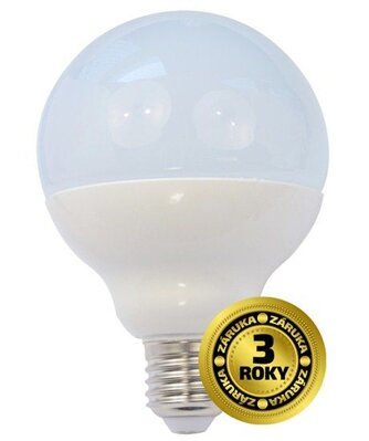 Solight LED žiarovka, globe, 15W, E27, 4000K, 270°, 1250lm
