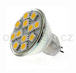 LED žiarovka MAX-LED MR11 12SMD, 2,1W, 145lm