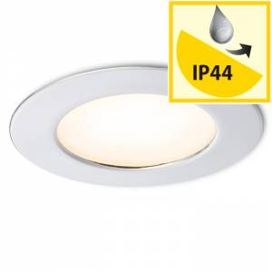 RENDL INEZ R chrom 12= LED 3W 120° IP44 3000K