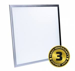 Solight LED panel WO09, 40W, 3200lm, 6000K, Lifud, 60x60cm, 3 roky záruka